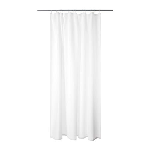 Addarn Shower Curtain White 71x71 Curtains Shower Shower Curtain Rings