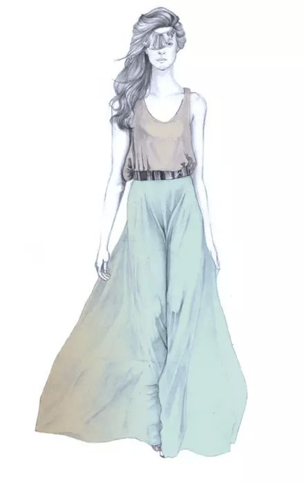Maxi faldas  detalles : www.olfatovioleta.blogs.elle.es