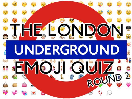 Quiz Picture Round Ideas Station Name Emoji 2