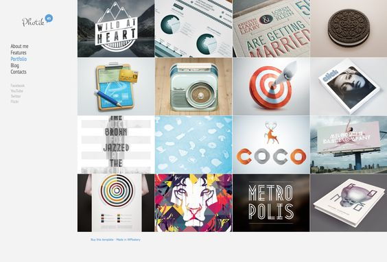 like this theme: http://demo.wpbakery.com/photik/