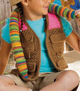 Safari Vest : Seasonal Projects: Spring & Summer : Shop ... - photo #31