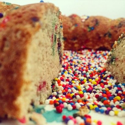 Coconut Flour Sprinkle Cake | Tasty Kitchen: A Happy Recipe Community!