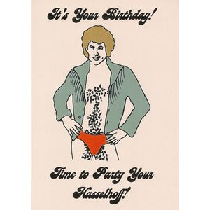 "Birthday card with ""It's Your Birthday! Time to party your ..."