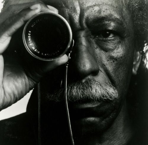 Gordon Parks, 1980s. Photograph by Toni Parks.