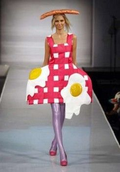 This outfit was inspired by this morning breakfast..lol
