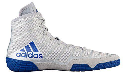 adidas adiZero Varner Mens Wrestling Shoes, Grey/Royal/Wh... https ...