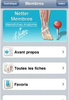 Netter - Membres : Mémofiches Anatomie  Elsevier Masson SAS