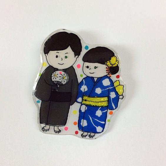 素材:プラスチックetc…norachiさんお待たせしました。とてもかわいいカップルを作らせて頂きました。norachiさんとお話ししているだけで心がホッコリなりました〜^^