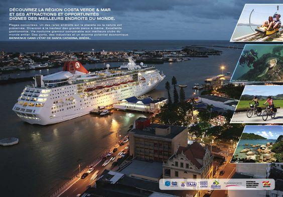 Cliente: Volvo Ocean Race Anúncio: Descubra uma região com atrações e oportunidades à altura dos melhores lugares do mundo.