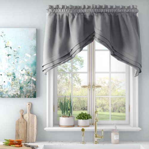Gladys Swag 57 Window Valance Reviews Joss Main Curtains