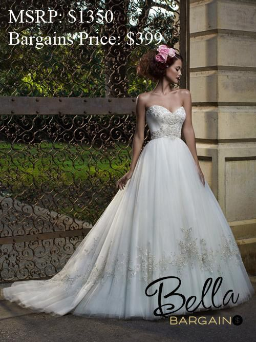 Check Out Bella Bridal Boutiques First Ever Outlet Store Bella Bargains For Huge Savings C Casablanca Bridal Gowns Ball Gowns Wedding Ball Gown Wedding Dress