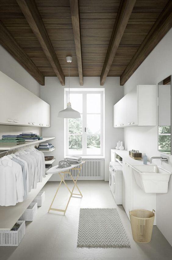 Lavanderia suggerimenti e idee questioni di arredamento for Disegnando una casa suggerimenti