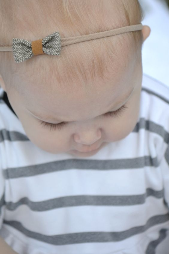 Delicate, understated fall bows from Grazie Mamma