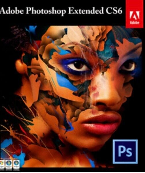 Adobe Photoshop Cs6 Extended For Sale