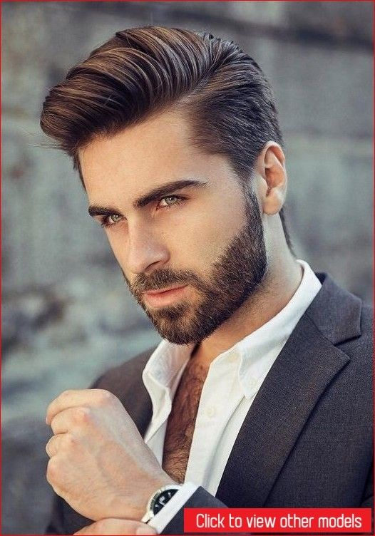 Get Back Your Handsome Look With Exclusive Hair Styles For Men Hair Hairstyleformen Hairs Thick Hair Styles Mens Hairstyles With Beard Long Hair Styles Men