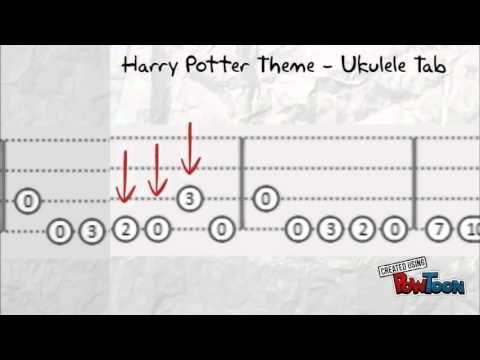 Harry Potter Theme Uke Tab Harry Potter Theme Uke Tabs Ukulele