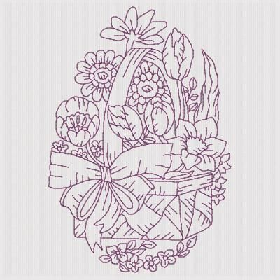 Beautiful Baskets - Free Instant Machine Embroidery Designs