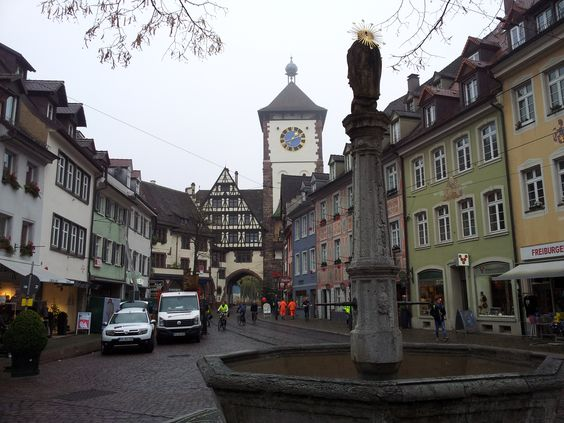 Walking around Freiburg im Breisgau