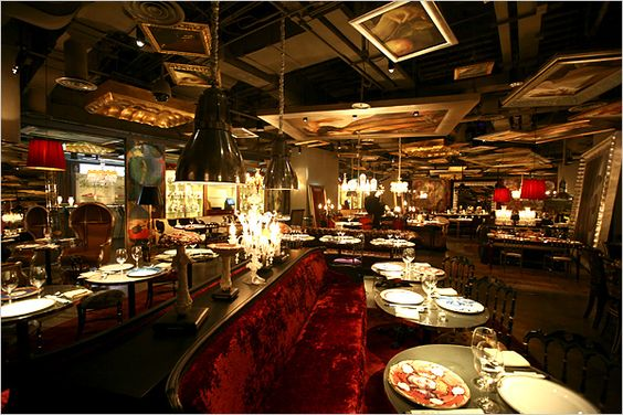 lan restaurant by philippe starck beijing this place is like in a movie dimension one of the. Black Bedroom Furniture Sets. Home Design Ideas