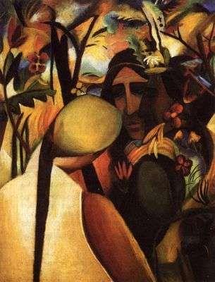 Indiens, par Auguste Macke