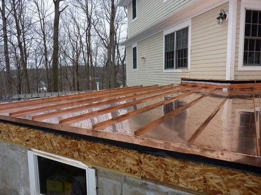We Take Pride In Having First Rate Workmanship For Our Copper Installations From Flashings Turrets Ridges Residential Metal Roofing Copper Roof Metal Roof