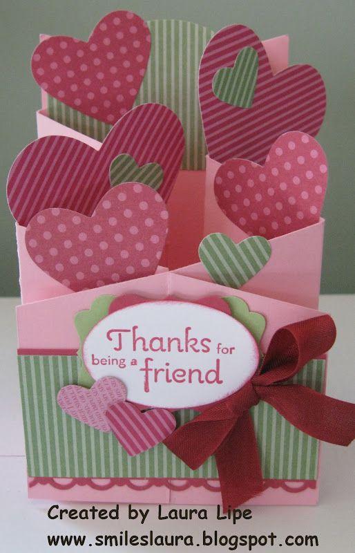 Smiles, Laura: Cascading Valentine Card....