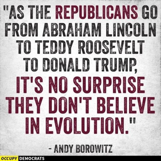 "bill maher quotes on republicans | US POLITICS: ""Republicans and Evolution"" / Andy Borowitz ..."
