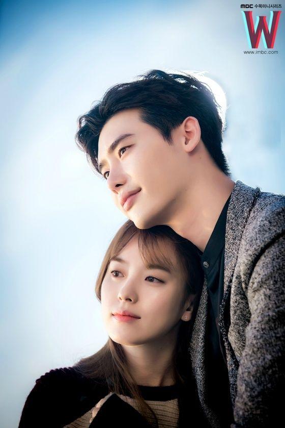 Image About Kdrama In W By Kru Jib On We Heart It Lee Jong Suk Han Hyo Joo Lee Jong Suk W Korean Drama