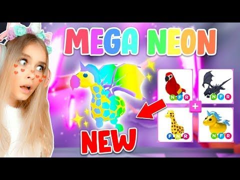 Making My First Mega Neon Pet In Adopt Me Roblox Youtube Roblox Pet Adoption Certificate Roblox Pictures