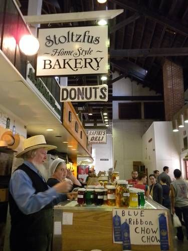 Picture of Stoltzfus Bakery in Central Market, Lancaster PA