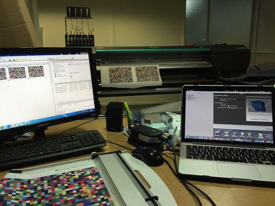 Calibración de color de impresora Roland RT-640. Herramientas y manos a la obra!