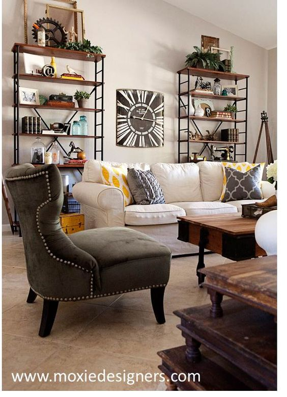 Interior Design Industrial Furniture ~ Interior design industrial cottage chic combined
