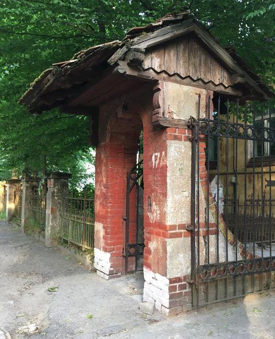 Калитка или вход во дворы
