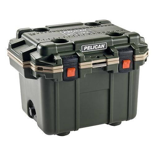 IM 30 Quart Elite Cooler - Olive Drab-Tan