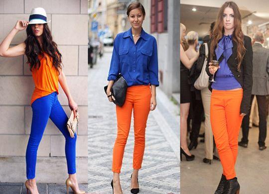Combinação Perfeita !-Azul royal e Coral