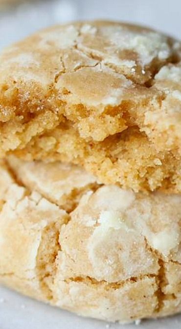 Brown Butter Cinnamon Crinkle Cookies | Recipe | Crinkle Cookies ...
