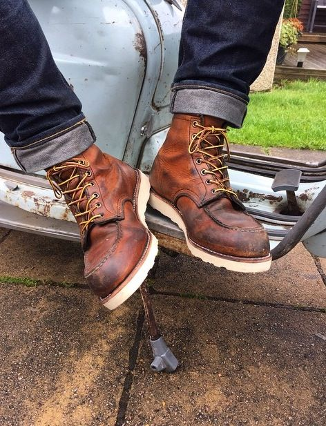 Resoled Red Wing 875