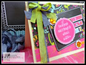 Scrappin Madge: 3 Girl JAM Blog Hop All things spring....