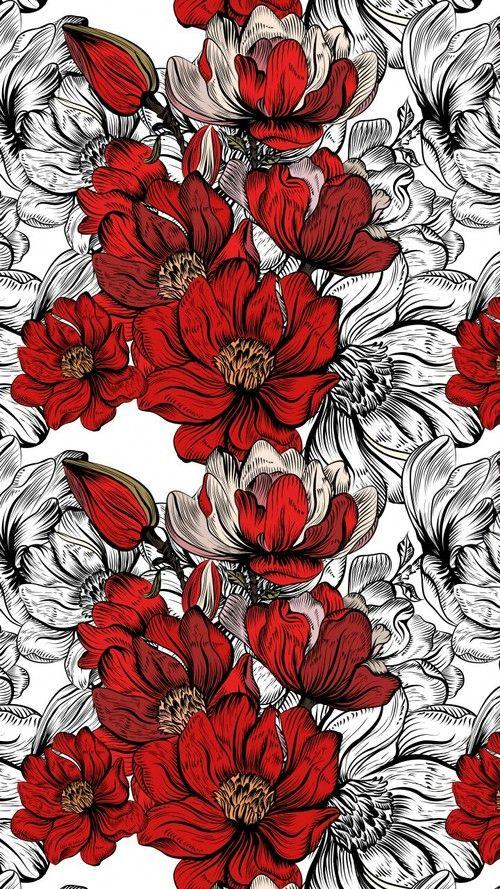 Art Background Cartoon Colorful Cute Art Design Drawing Flora Flowers Illustration Leaves Pastel Patt Flower Drawing Flower Illustration Flower Art