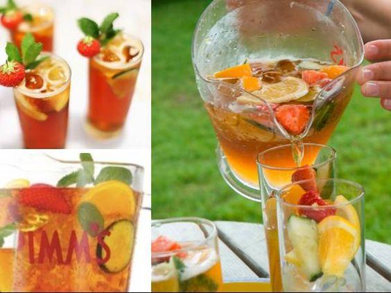 Bebidas para el verano: ¿Cómo preparar Pimm's en el verano?  #cocktails #verano #pimms #summer2014