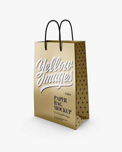 Download Metallic Paper Bag Mockup Half Side View In Bag Sack Mockups On Yellow Images Object Mockups Bag Mockup Mockup Free Psd Free Mockup