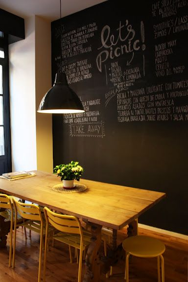 Chalkboard Walls Chalkboards And Mesas On Pinterest