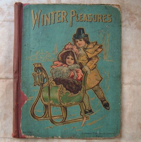 book cover winter pleasures2 by Im So Vintage, via Flickr