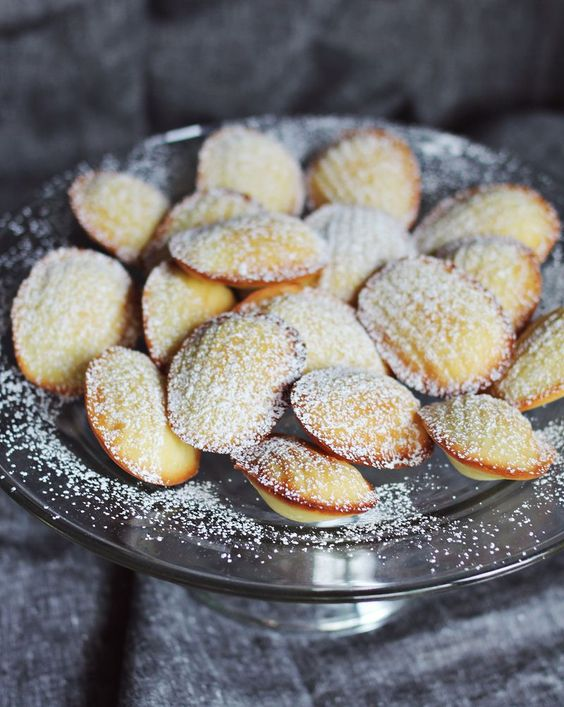 Madeleine Cookies Recipe