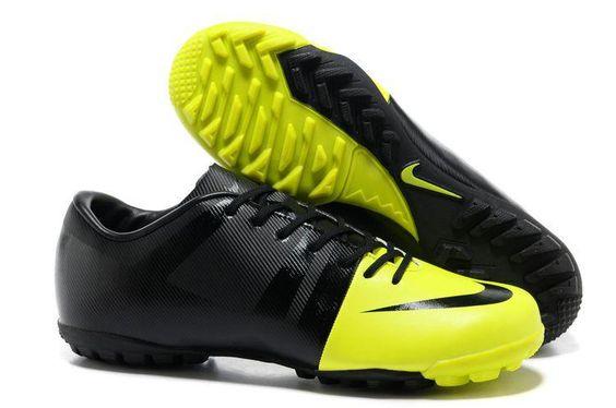 Tienda de Botas De Fútbol 2012 Nike Mercurial Glide Iii Verde Negro dk8-Personalizar Botas de Futbol