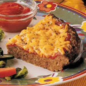 Cheesy Meat Loaf Pie