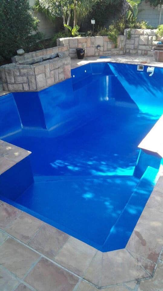 Epoxy Swimming Pool Paint Midas Earthcote Paints Tygervalley