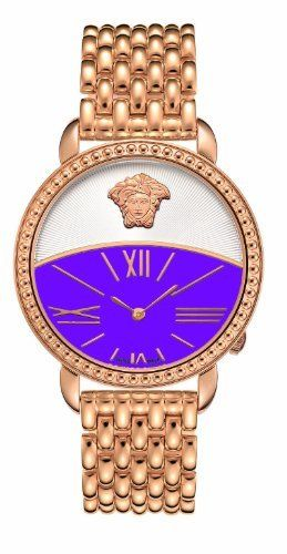Versace Women's 93Q80D702C S080 Krios Purple Dial IP Rose-Gold Bracelet Watch Versace, http://www.amazon.com/dp/B006I6KBHC/ref=cm_sw_r_pi_dp_u37wqb1P5CB78
