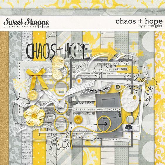 Chaos + Hope by Lauren Grier