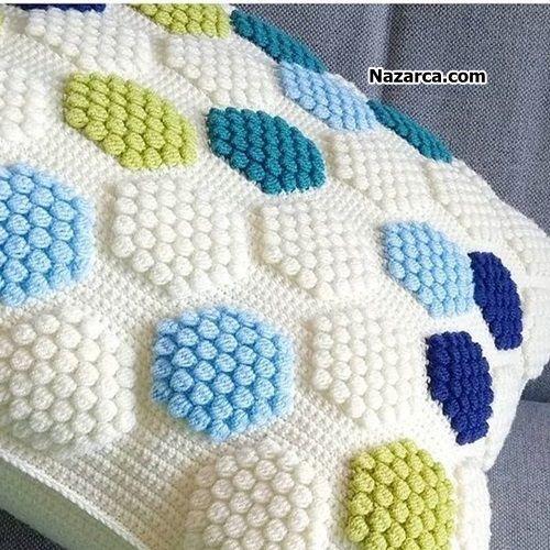 Pıtırcık Nasıl Örülür, Popcorn nasıl yapılır - Popcorn Crochet ...   500x500